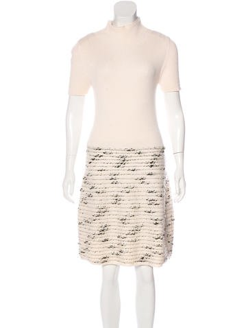 Piazza Sempione Wool-Blend Knit Dress None