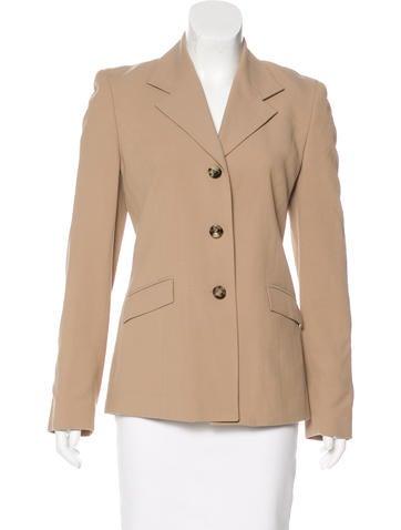 Piazza Sempione Wool Notch-Lapel Jacket None