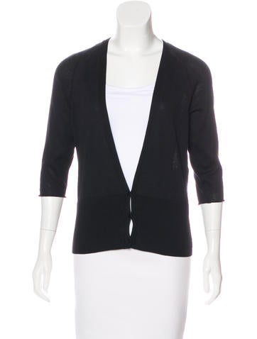 Piazza Sempione V-Neck Knit Cardigan None