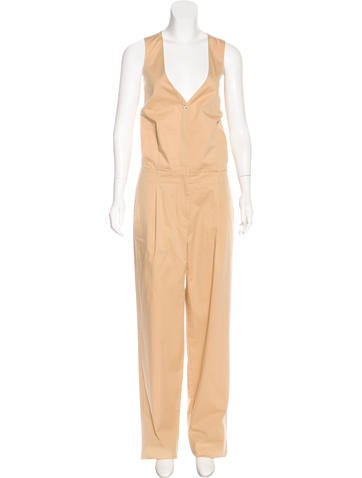 Piazza Sempione Sleeveless Wide-Leg Jumpsuit w/ Tags None