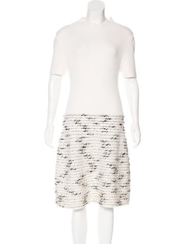 Piazza Sempione Wool-Blend Dress None