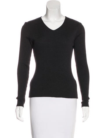 Piazza Sempione Wool Long Sleeve Sweater None