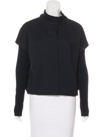 Piazza Sempione Knit-Trimmed Wool Jacket None