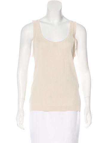 Piazza Sempione Sleeveless Knit Top None