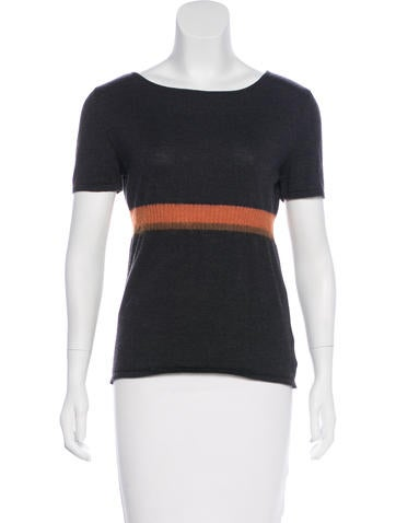 Piazza Sempione Wool Short Slevee Top None