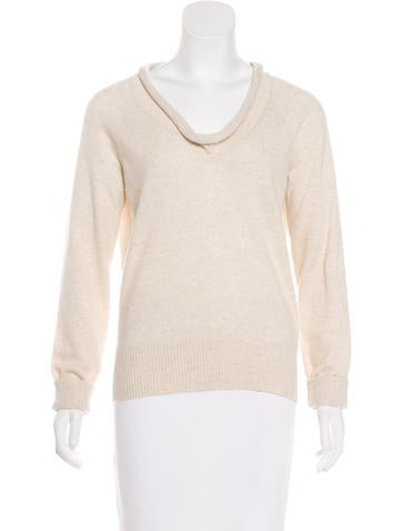 Piazza Sempione Long Sleeve Cashmere Sweater None