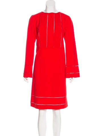 Piazza Sempione Wool Knee-Length Dress None