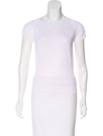 Piazza Sempione Knit Short Sleeve Top None