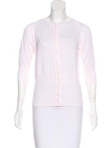 Piazza Sempione Knit Short Sleeve Cardigan None