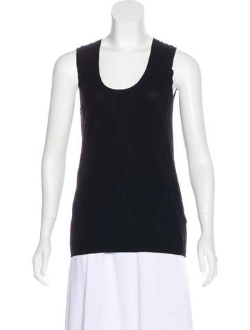 Piazza Sempione Knit Sleeveless Top w/ Tags None