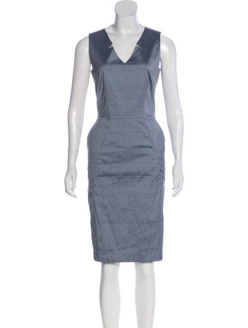 46e9ec2f880ef Piazza Sempione Silk Sleeveless Dress - Clothing - PIA37032