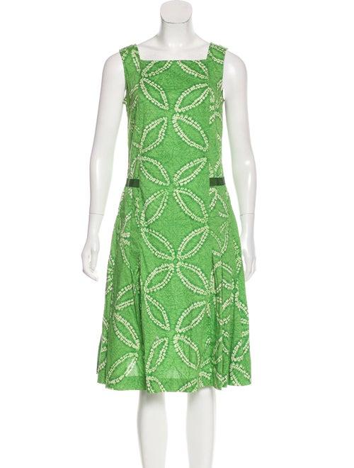 Piazza Sempione Tie-Dye Midi Dress green