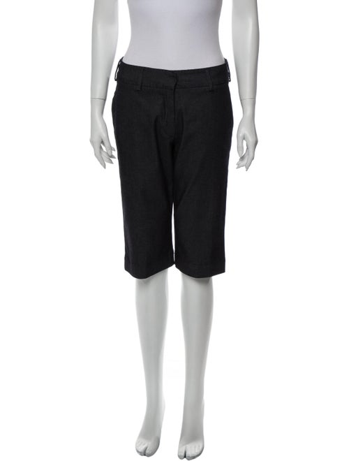Piazza Sempione Knee-Length Shorts Blue