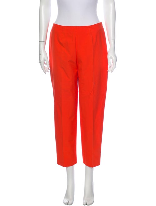 Piazza Sempione Straight Leg Pants Orange