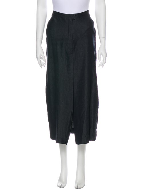Piazza Sempione Midi Length Skirt Blue