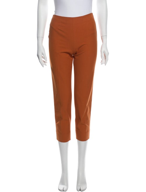 Piazza Sempione Skinny Leg Pants Orange