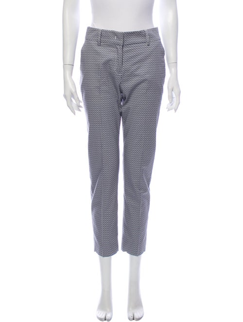 Piazza Sempione Printed Straight Leg Pants