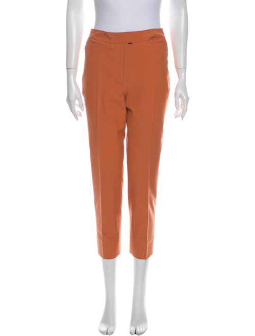 Piazza Sempione Straight Leg Pants Orange