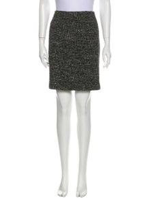 Piazza Sempione Virgin Wool Mini Skirt