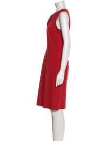 Piazza Sempione V-Neck Knee-Length Dress