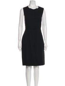 Piazza Sempione Crew Neck Knee-Length Dress