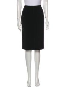 Piazza Sempione Wool Knee-Length Skirt