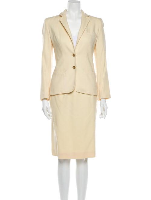 Pierre Cardin Wool Skirt Suit Wool