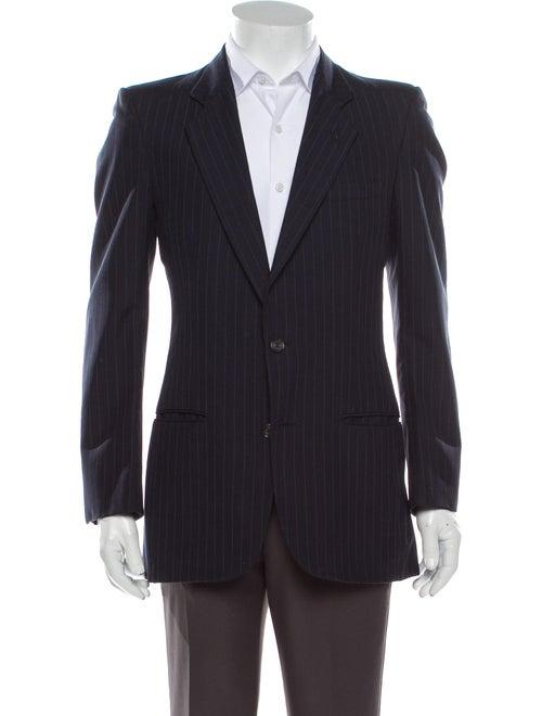 Pierre Cardin Striped Blazer Blue