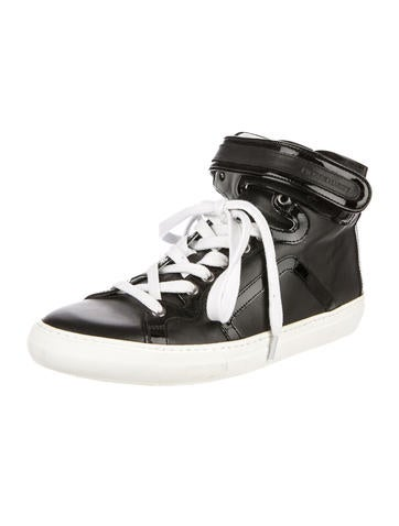 Leather High-Top Sneakers w/ Tags