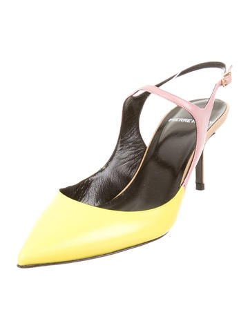 Pointed-Toe Pumps w/ Tags