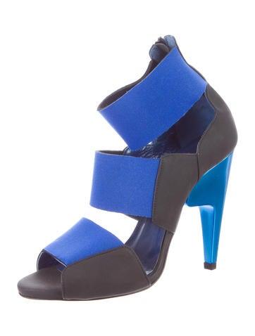 Colorblock Scuba Sandals