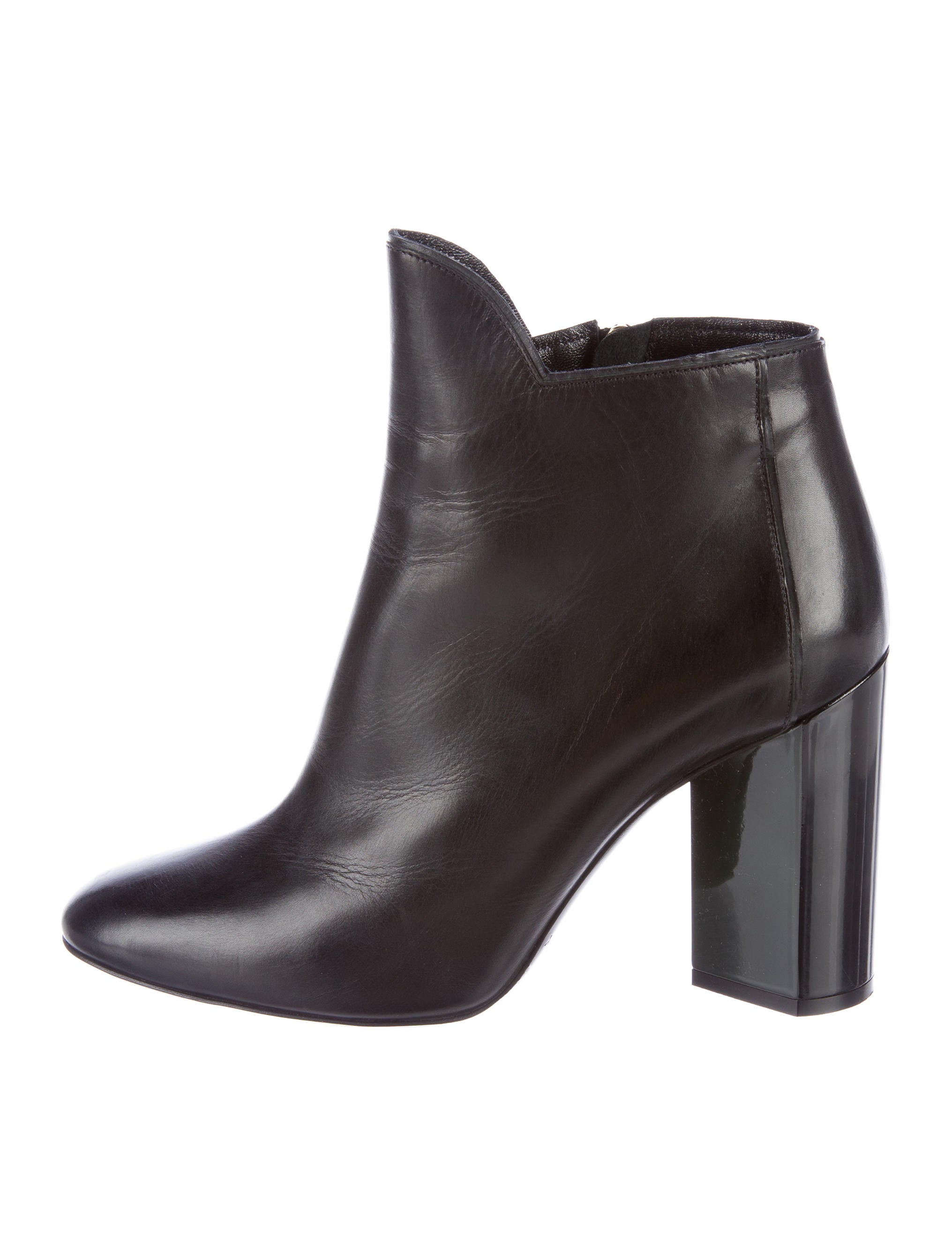 hardy leather pointed toe ankle boots shoes