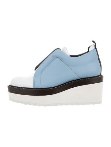 Mega Slip-On Wedges w/ Tags