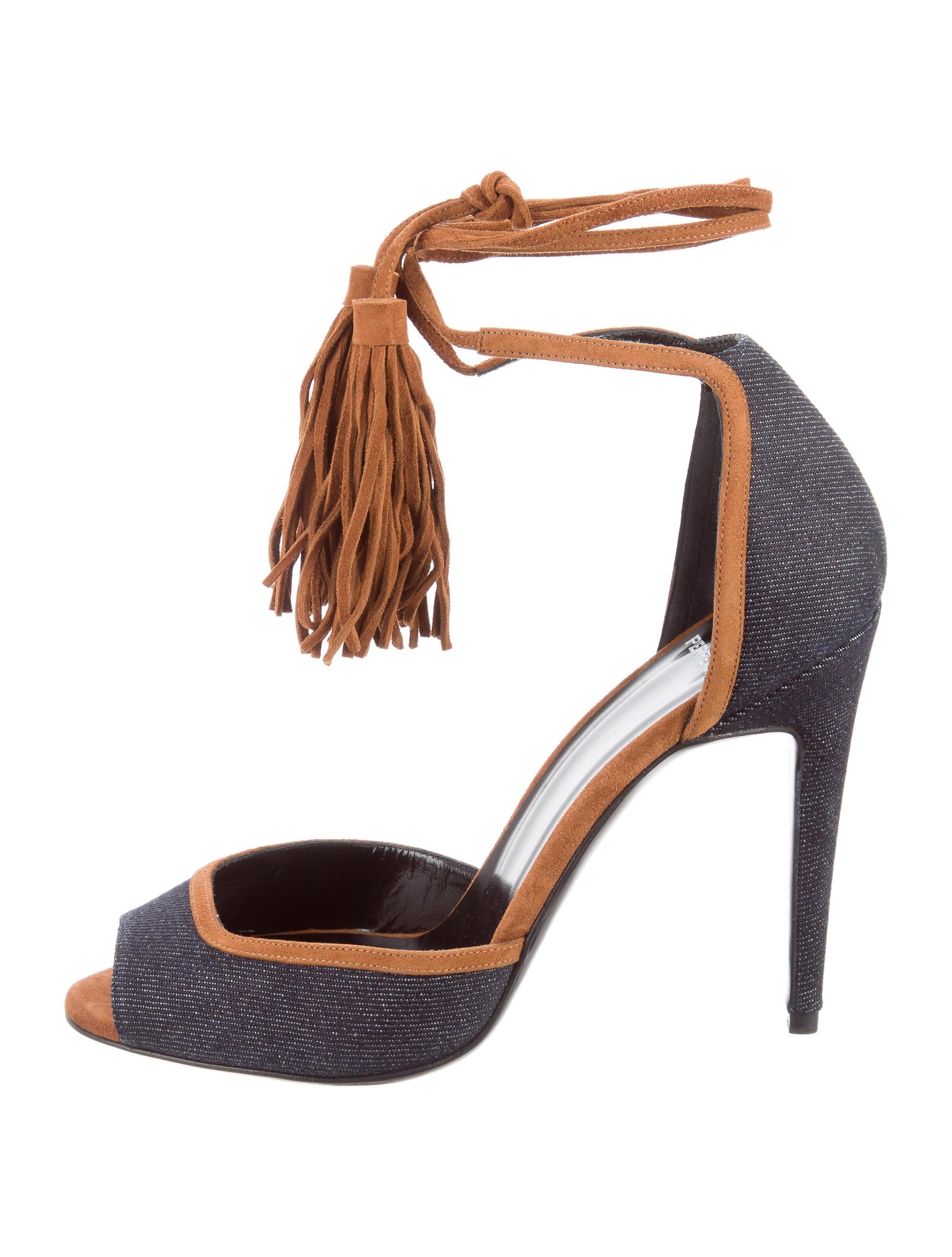 Pierre Hardy Marjorelle Denim Pumps w/ Tags - Shoes ...