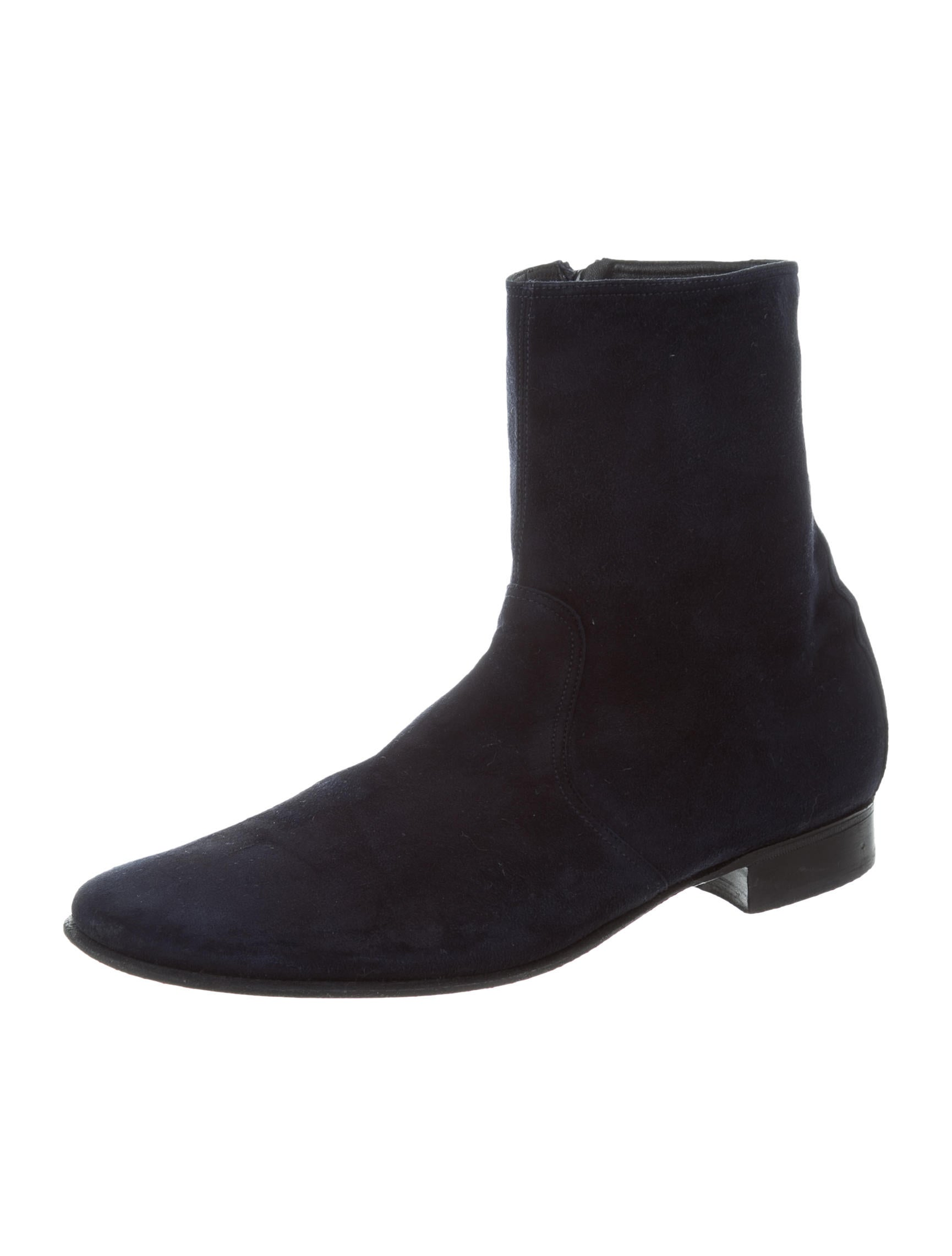 Pierre Hardy Suede Ankle Boots - Shoes