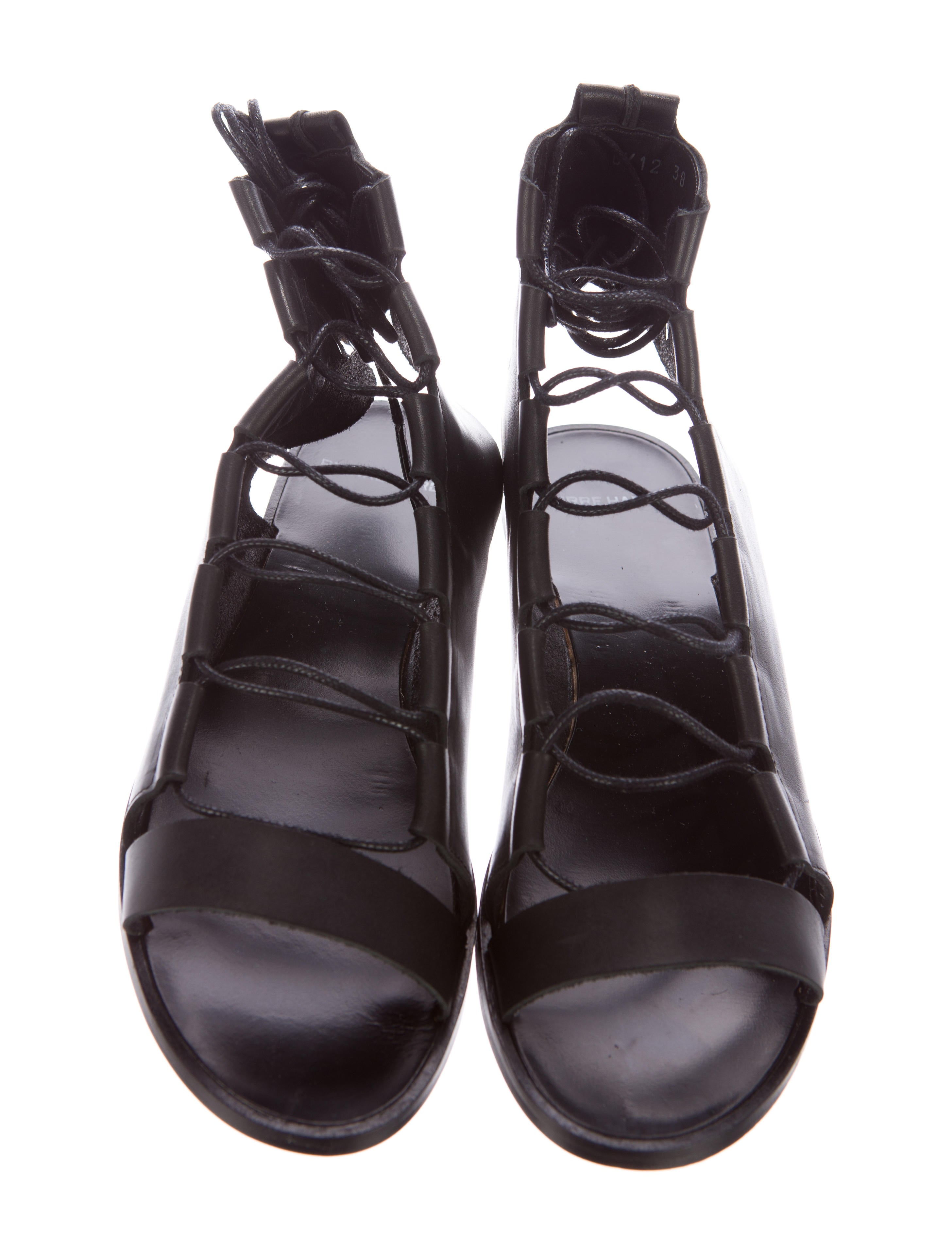 pierre hardy leather lace up sandals w tags shoes pie24189 the realreal. Black Bedroom Furniture Sets. Home Design Ideas
