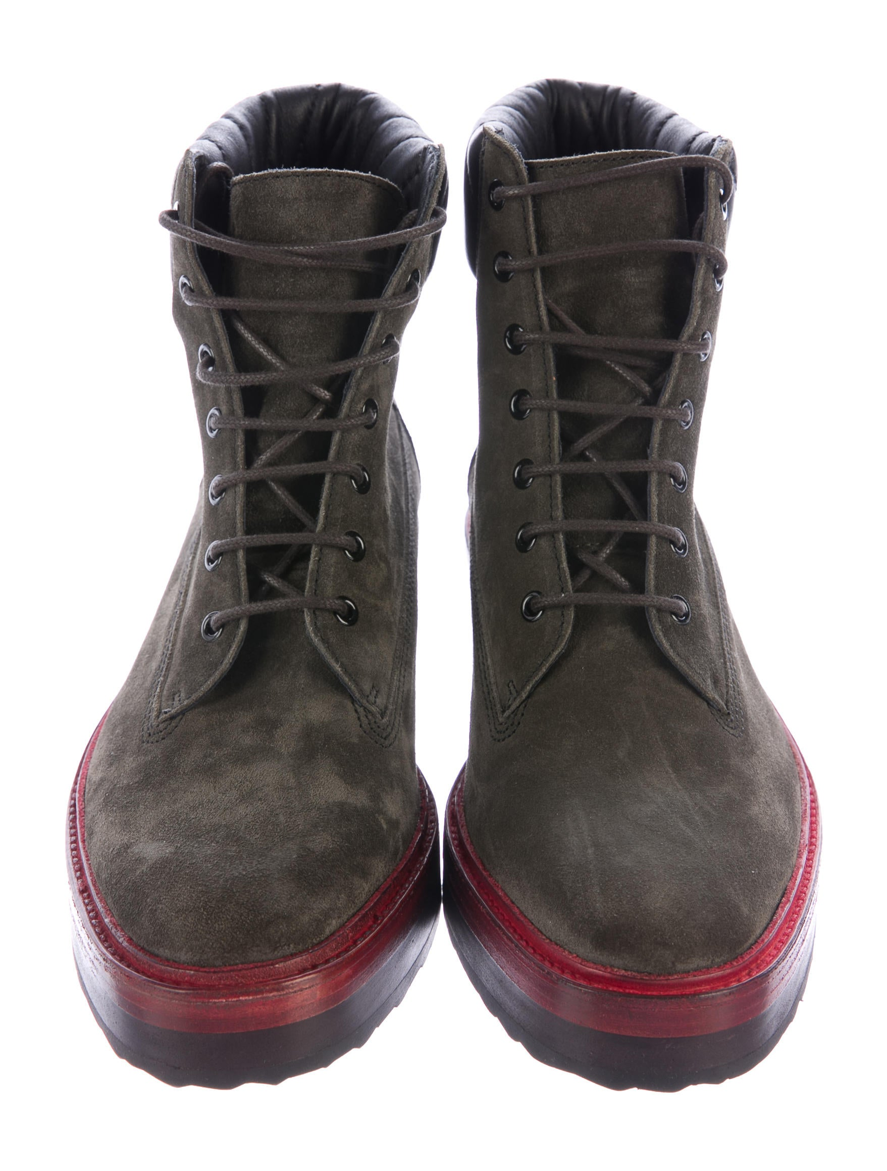pierre hardy suede lace up boots w tags shoes pie24277 the realreal. Black Bedroom Furniture Sets. Home Design Ideas