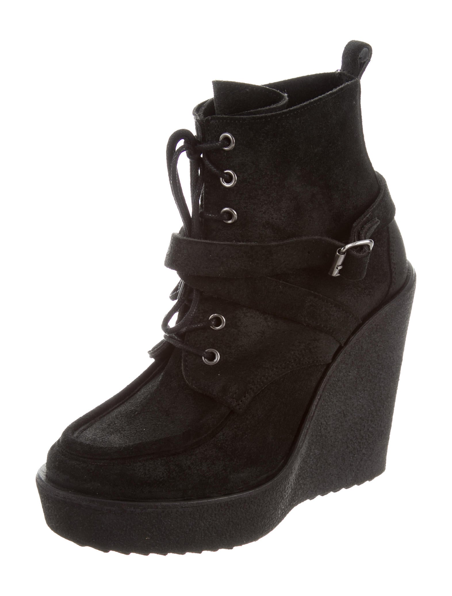 pierre hardy platform wedge boots shoes pie24333 the realreal. Black Bedroom Furniture Sets. Home Design Ideas
