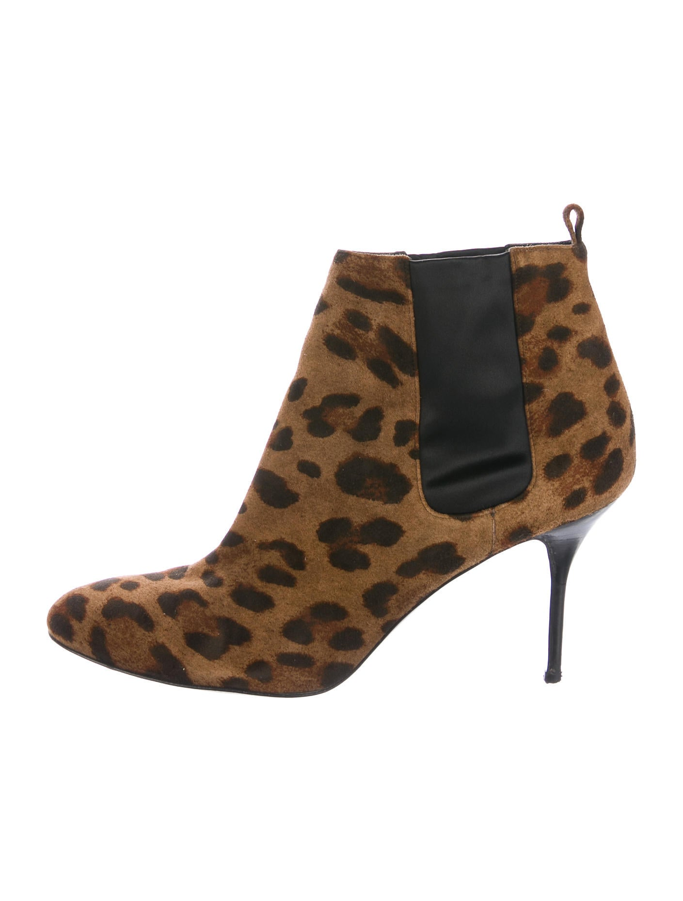 Pierre Hardy Printed Suede Ankle Boots - Shoes