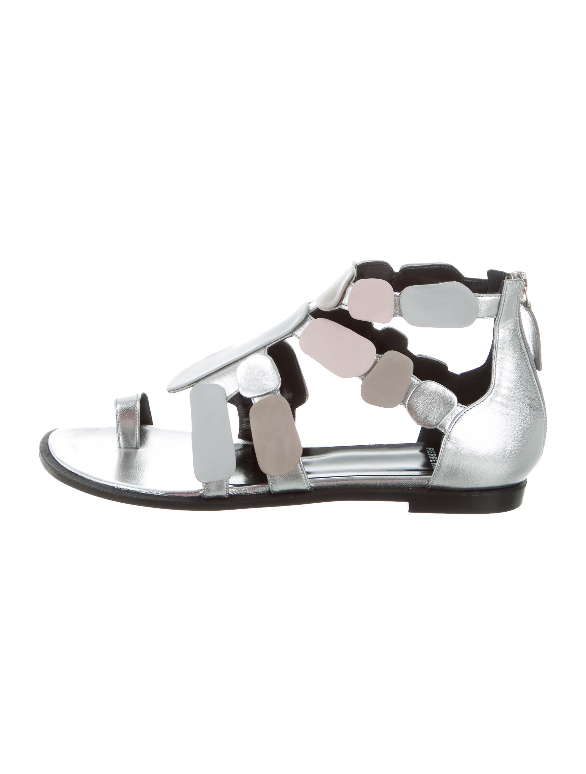 Pierre Hardy Leather Stones Sandals w/ Tags discount sast clearance geniue stockist outlet cheap authentic for nice cheap online RfE5h0SvF