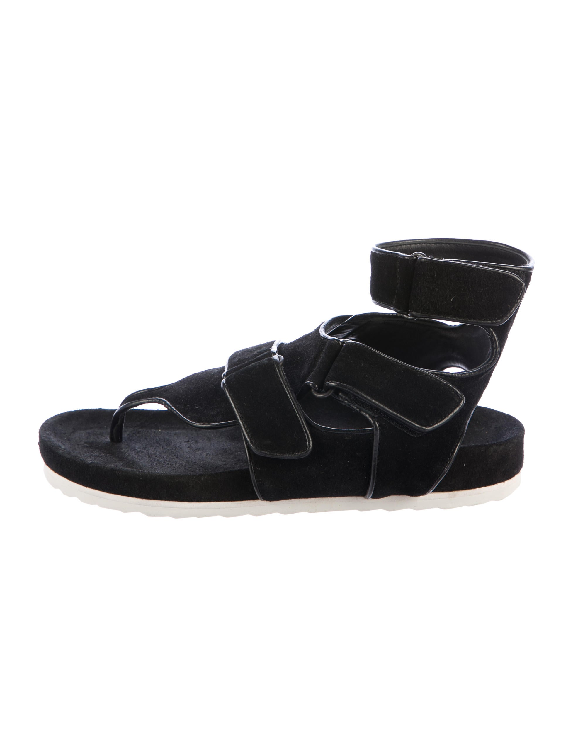 Pierre Hardy Suede Multistrap Sandals free shipping cheap xKcyK