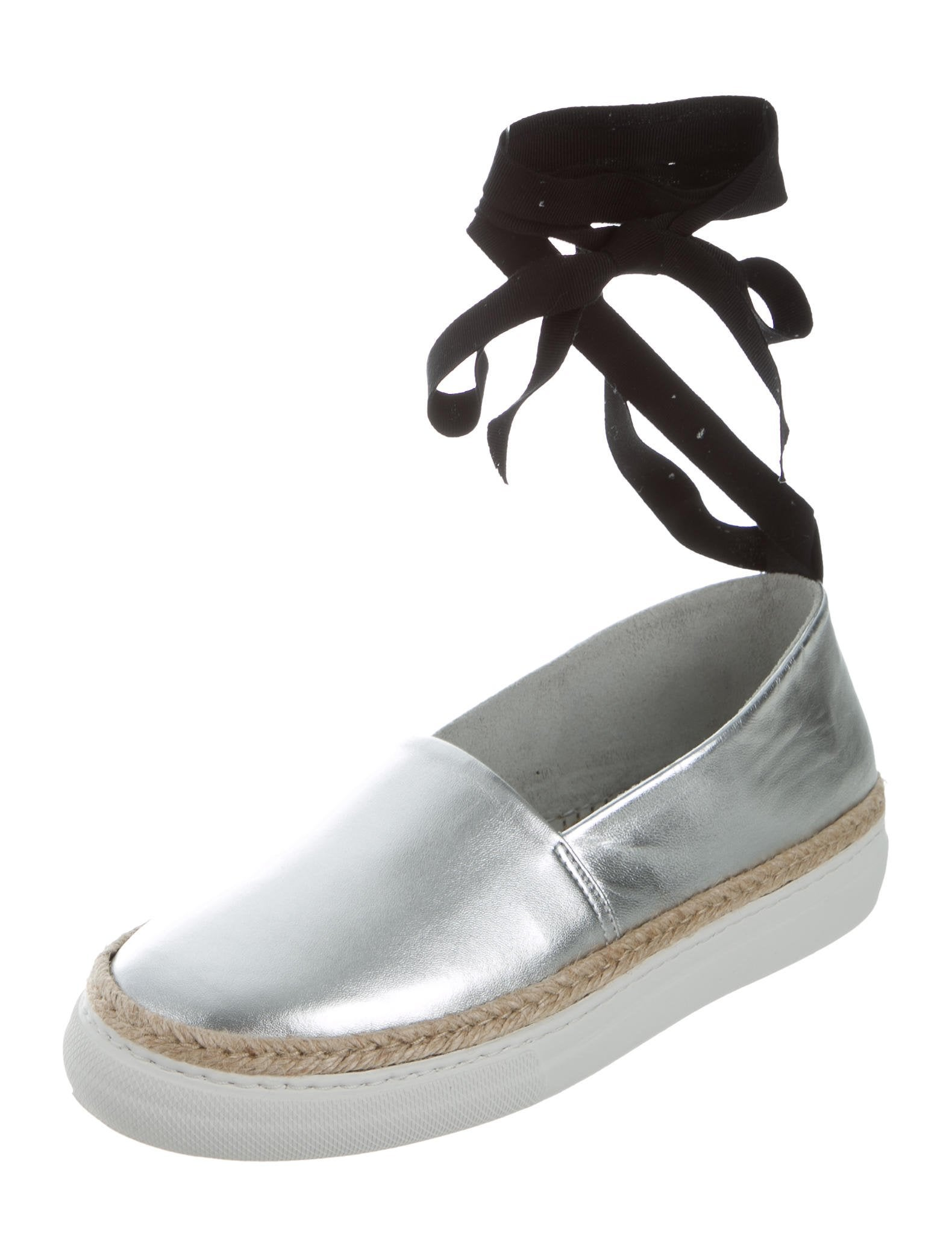 Pierre Hardy Metallic Wrap-Around Espadrilles w/ Tags with mastercard cheap online EgeflS