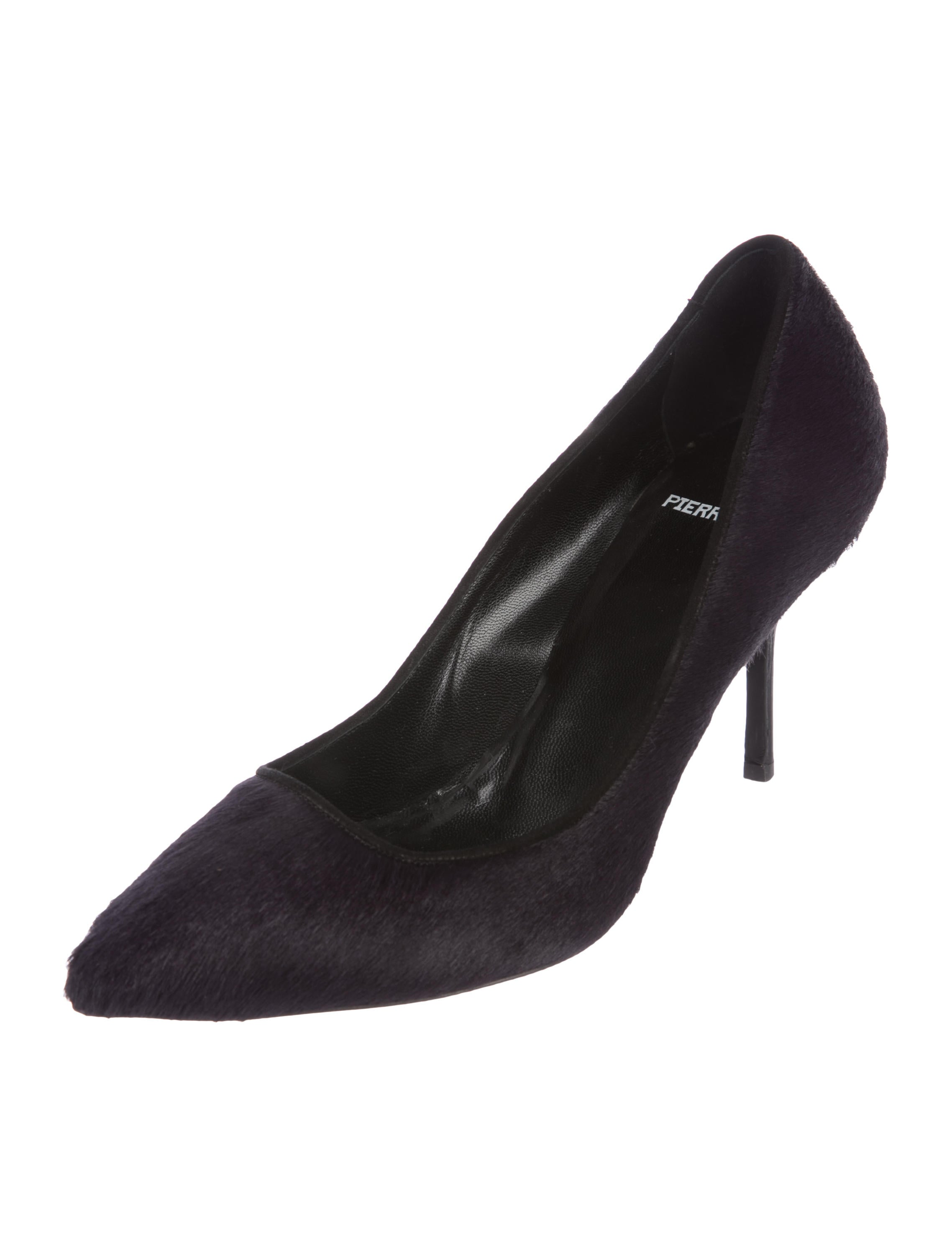 clearance low cost pre order cheap online Pierre Hardy Ponyhair Pointed-Toe Pumps Hg57h