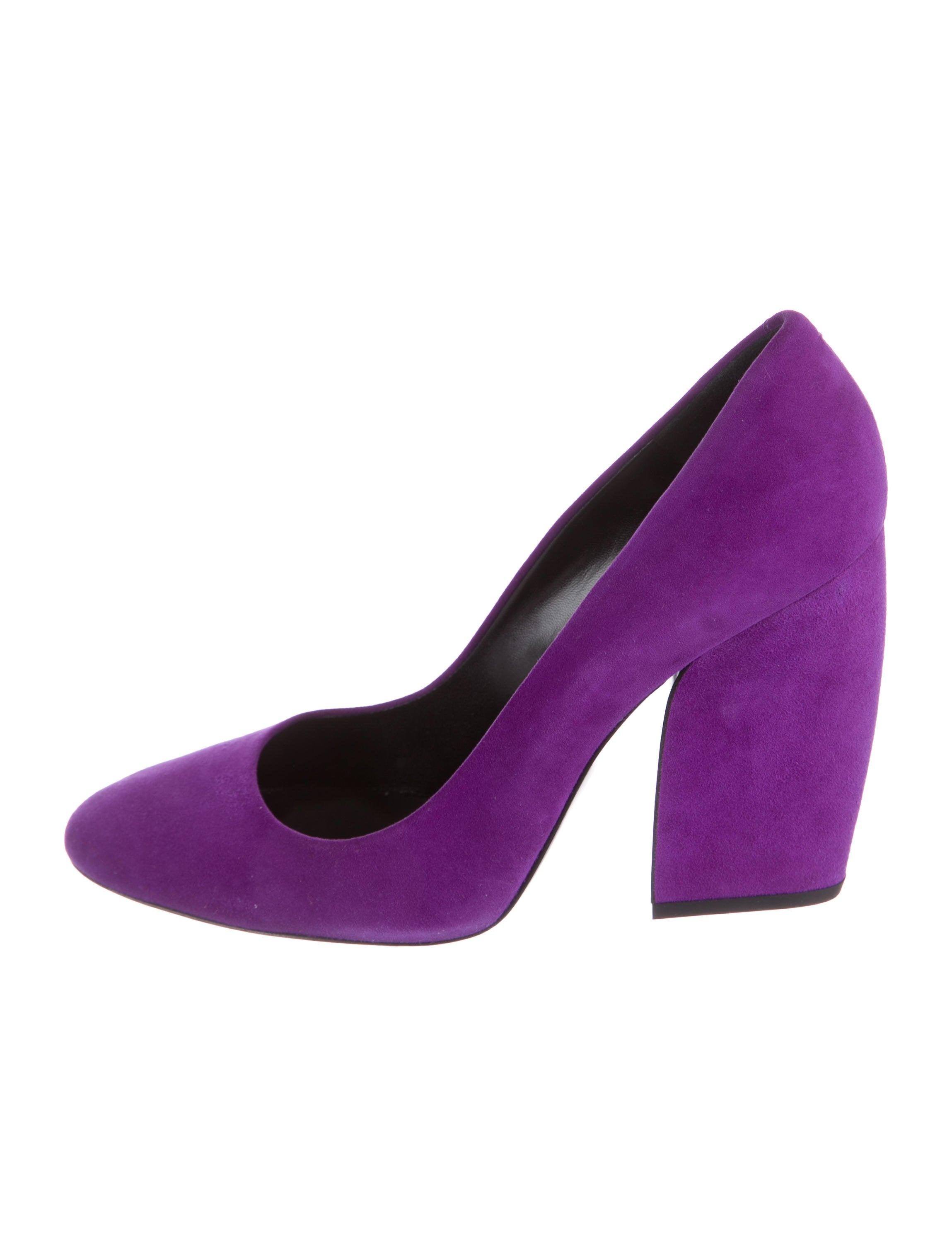 cheap sale footlocker buy cheap prices Pierre Hardy Suede Round-Toe Pumps official for sale ashhkyXn