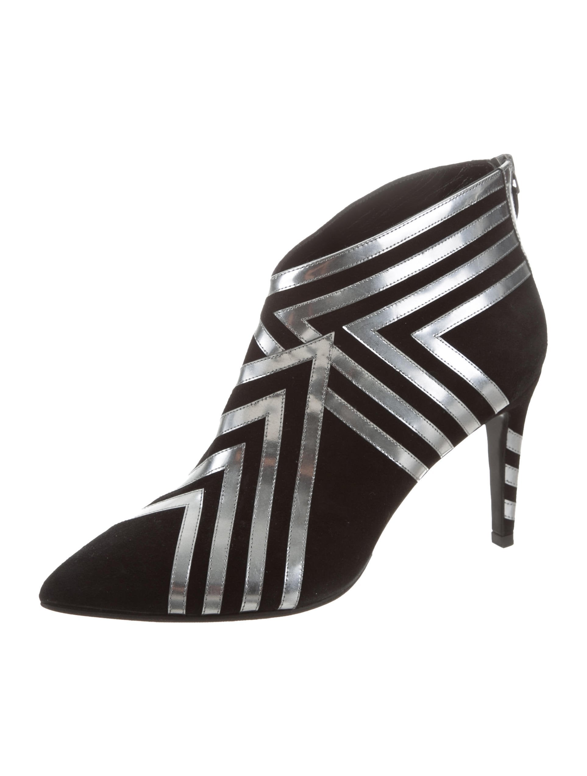Pierre Hardy Metallic-Trimmed Ankle Boots from china cheap online outlet reliable e6K74ET