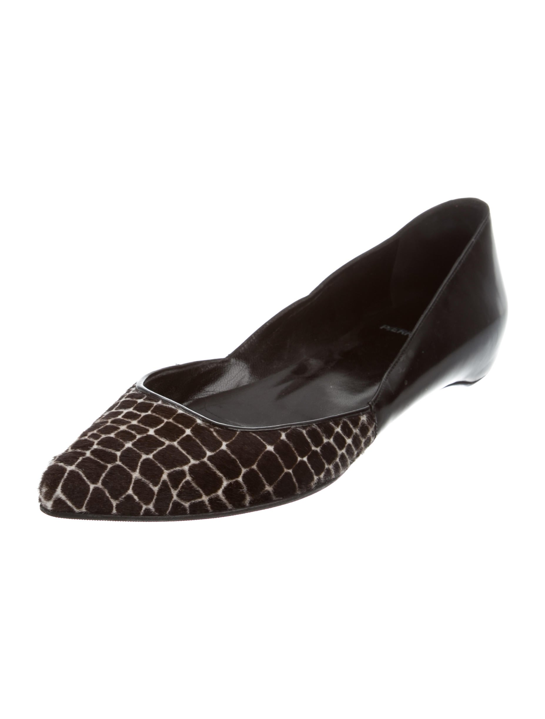 deals for sale Pierre Hardy Ponyhair Printed Flats sast outlet cheap authentic free shipping wiki buy cheap very cheap CMNY8Wbaq