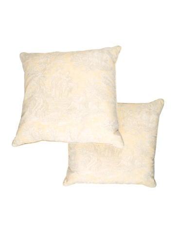 Toile Throw Pillows
