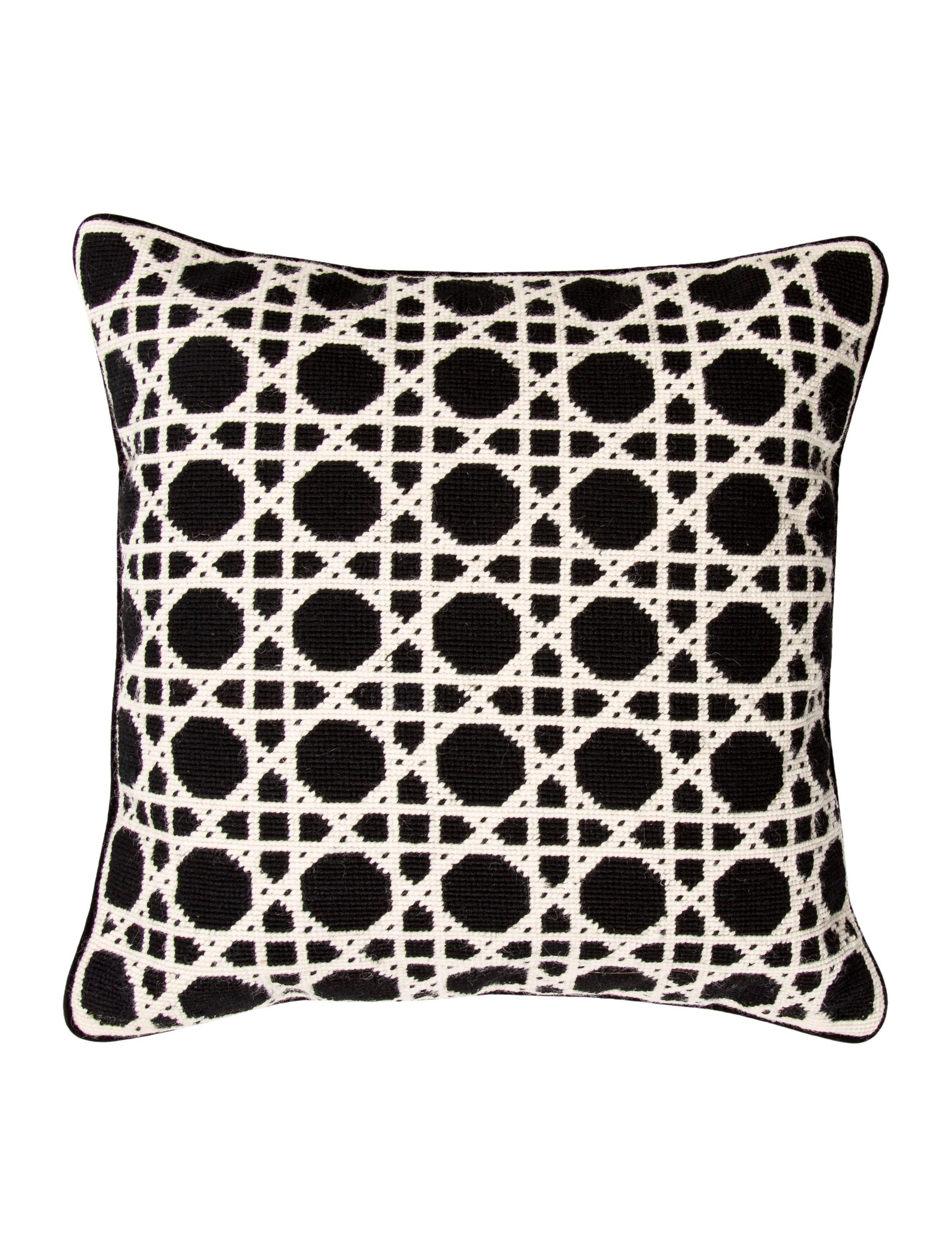 Throw Pillow Needlepoint Throw Pillow - Pillows And Throws - PILLO20162 The RealReal