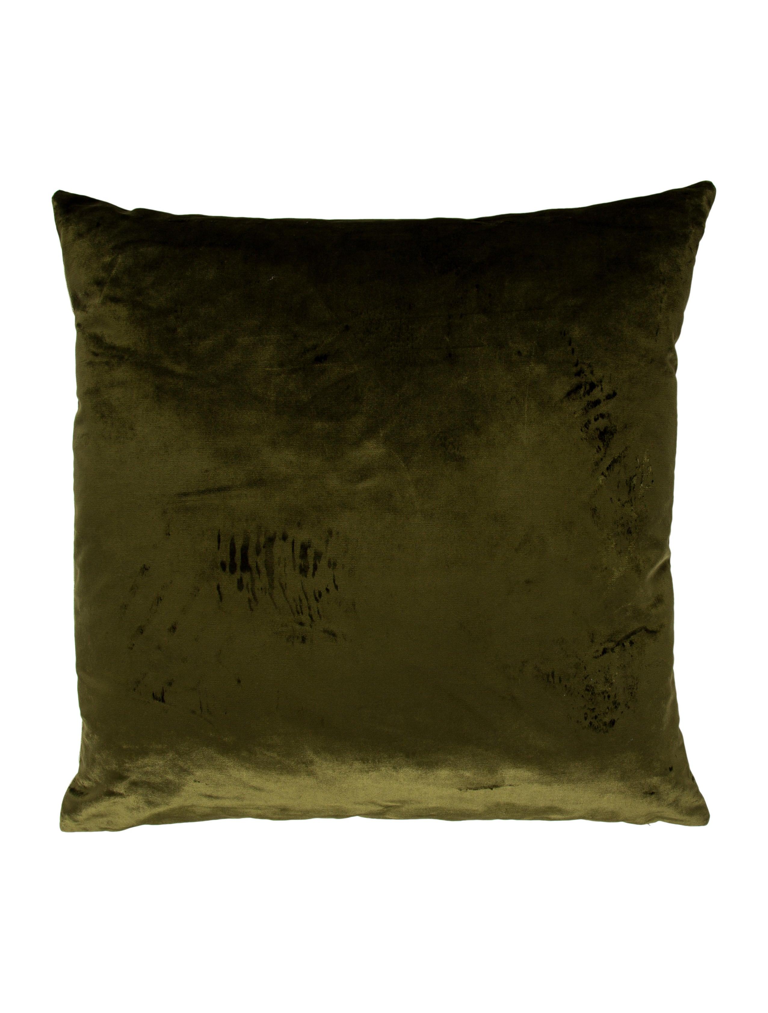 Iosis Velvet Throw Pillow - Bedding And Bath - PILLO20213 The RealReal