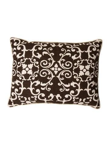 Highland Court Garden Trellis Throw Pillow None